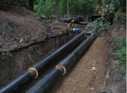Инженерные коммуникации и системы очистки сточных вод