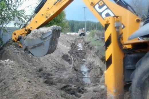 Строительство системы водоснабжения в селе Диброва Изюмского района Харьковской области