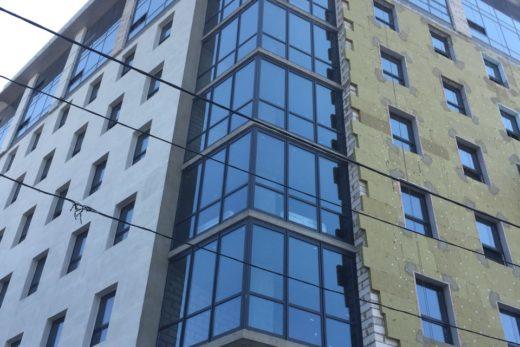 Монтаж системы утепления для ограждающих конструкций на объекте по адресу: ул. Маршала Бажанова, г.Харьков