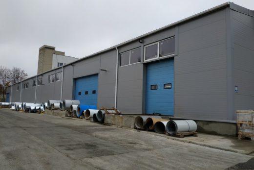 Строительство производственного цеха размером 12900 х 66900 мм