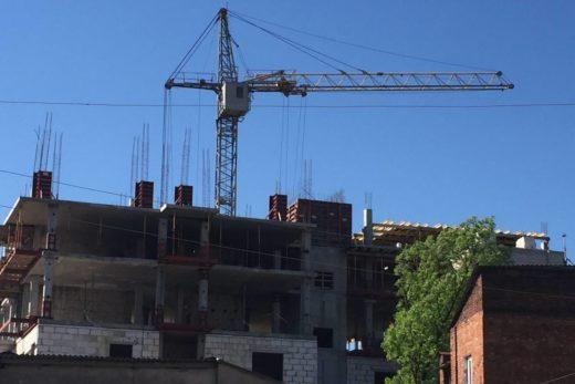 Общестроительные работы при строительстве дома 5А, расположенный по переулку Ващенковский, угол переулка Краснокутского в г. Харькове