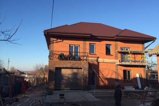 Строительство жилого дома (устройство коробки дома, устройство первого и второго этажей, устройство перекрытий, устройство кровли) расположенного по адресу: г.Волчанск, Харьковской области