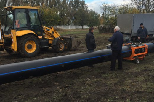 Реконструкция водопровода от насосной станции 3 до ул. Говорова г. Лозовая