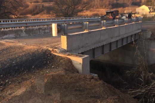 Строительство автомобильного мостового перехода